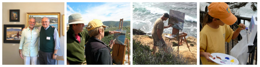 Laguna Plein Air Painters Past Events Award Winners