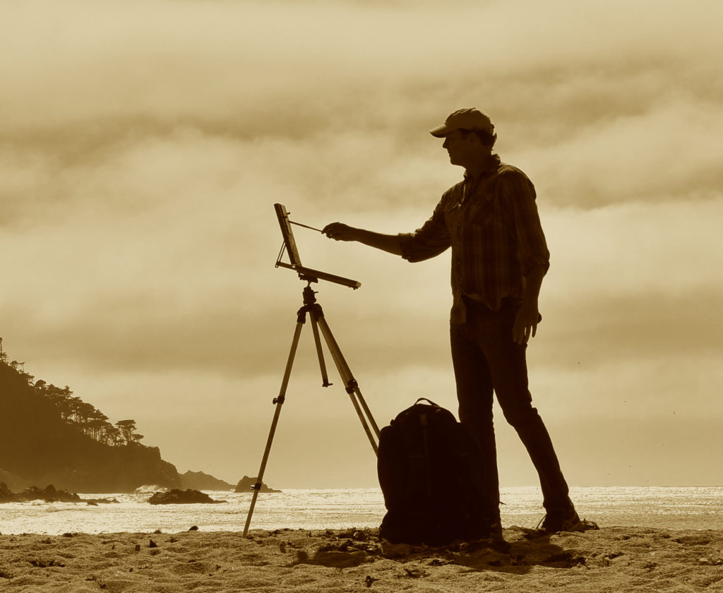 Laguna Plein Air Signature Artist John Burton
