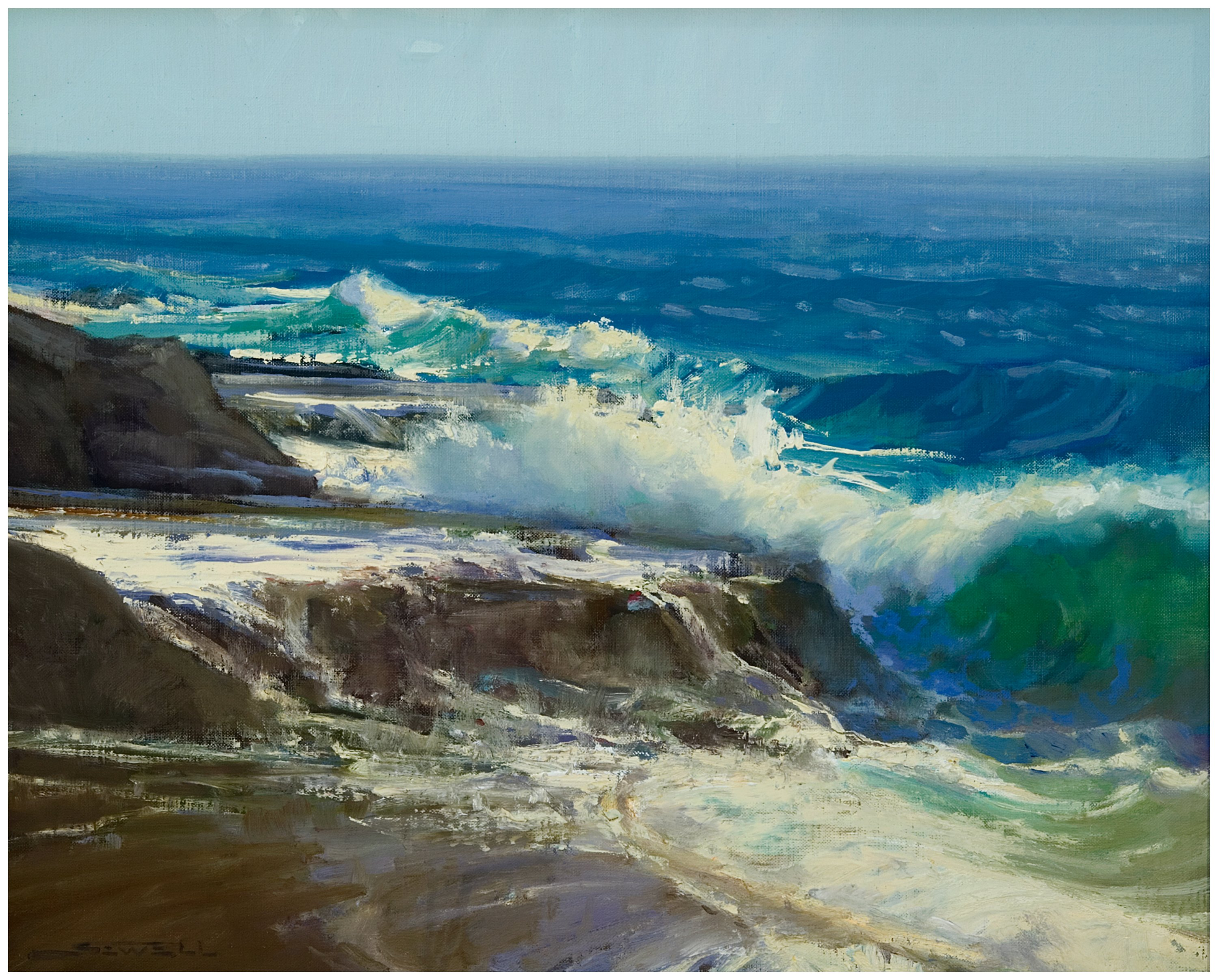 Award winning Laguna Plein Air Artist Jeff Sewell