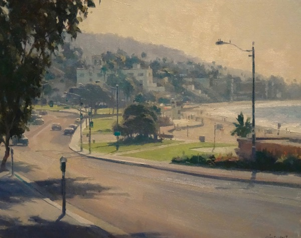 Laguna Plein Air Painter Michel Obermeyer