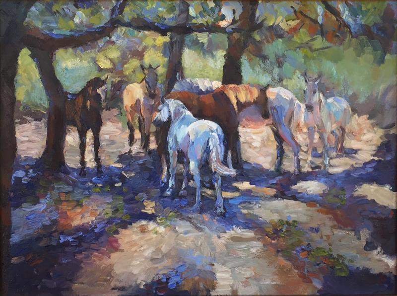 Laguna Plein Air artist Franchesca_Beau-the_shade_seekers