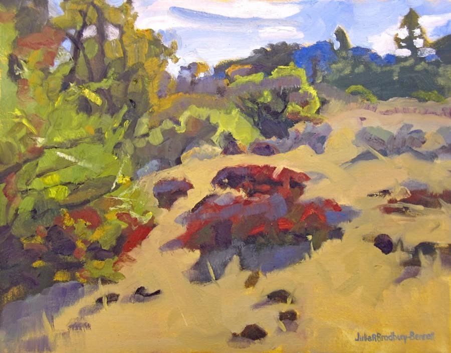 Laguna Plein Air Artist Julie Bradbury-Bennett