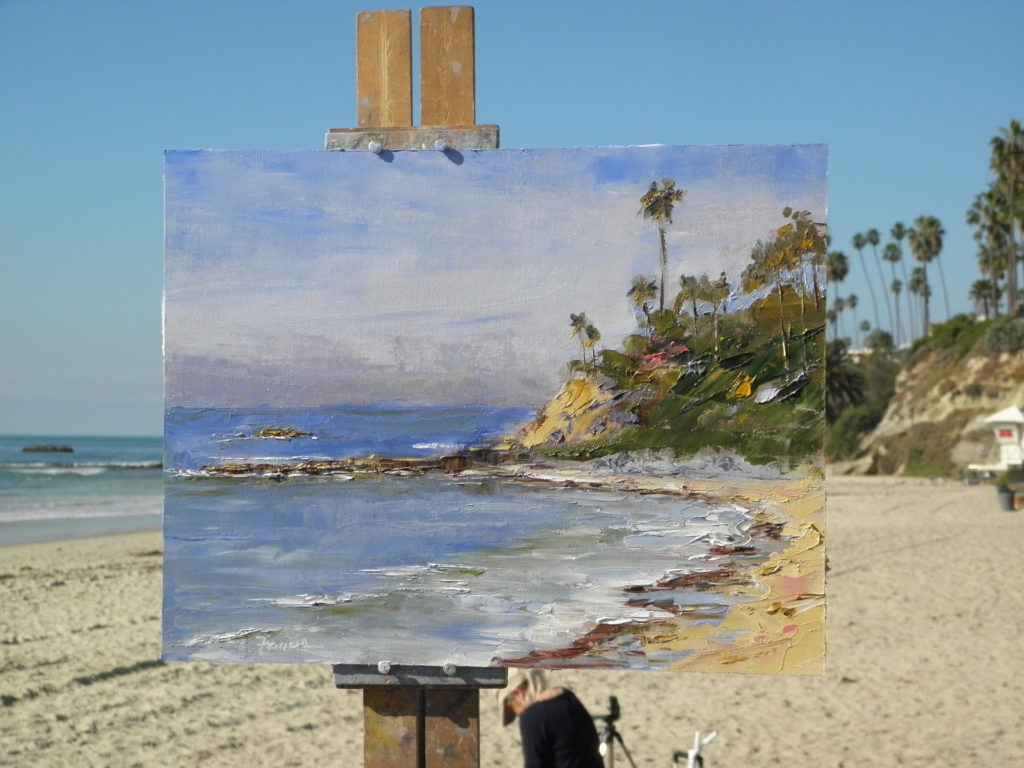 Laguna Plein Air Painter Robert Francis