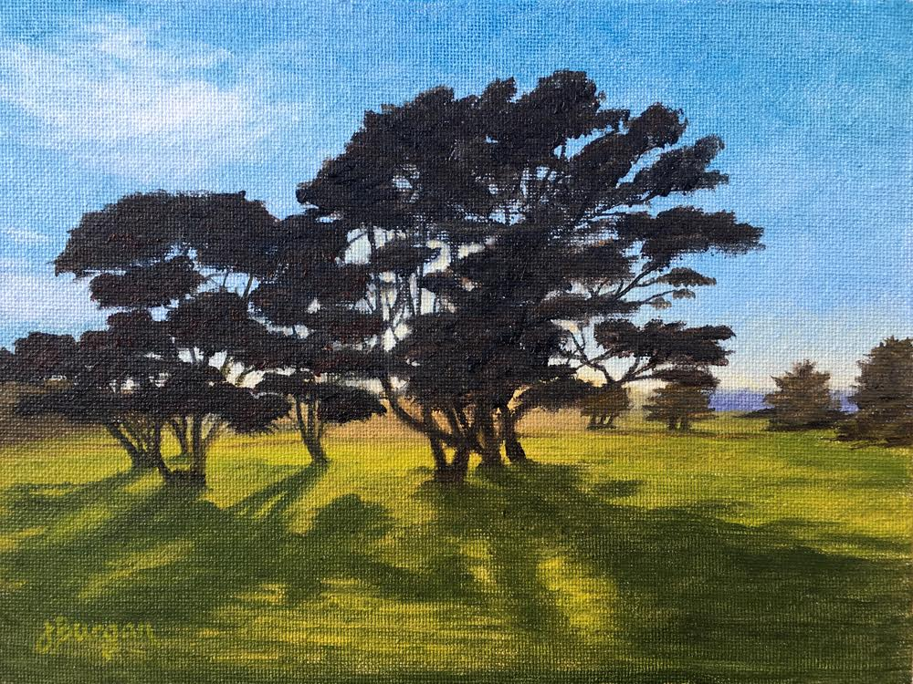 laguna Plein Air Artisit Jennifer Burgan