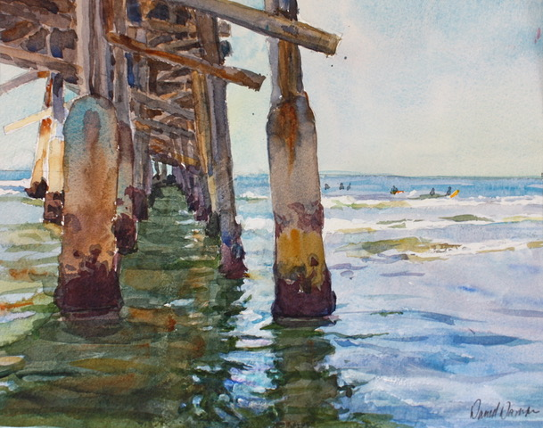 laguna plein air signature artist David Damm