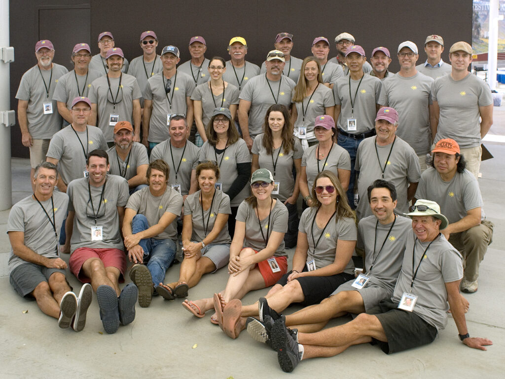 2017 Laguna Plein Air Invitational Artists Group Photo