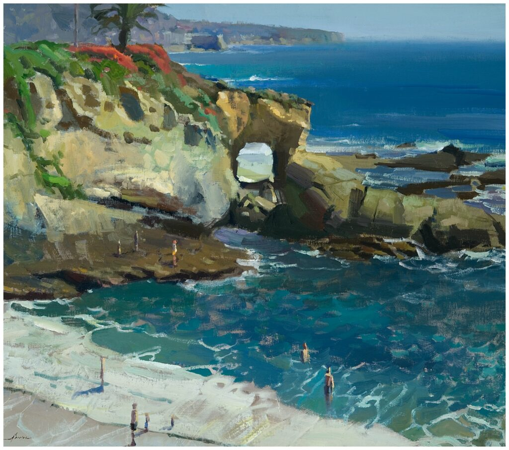 Laguna Plein Air Invitational Artist Jason Sacran