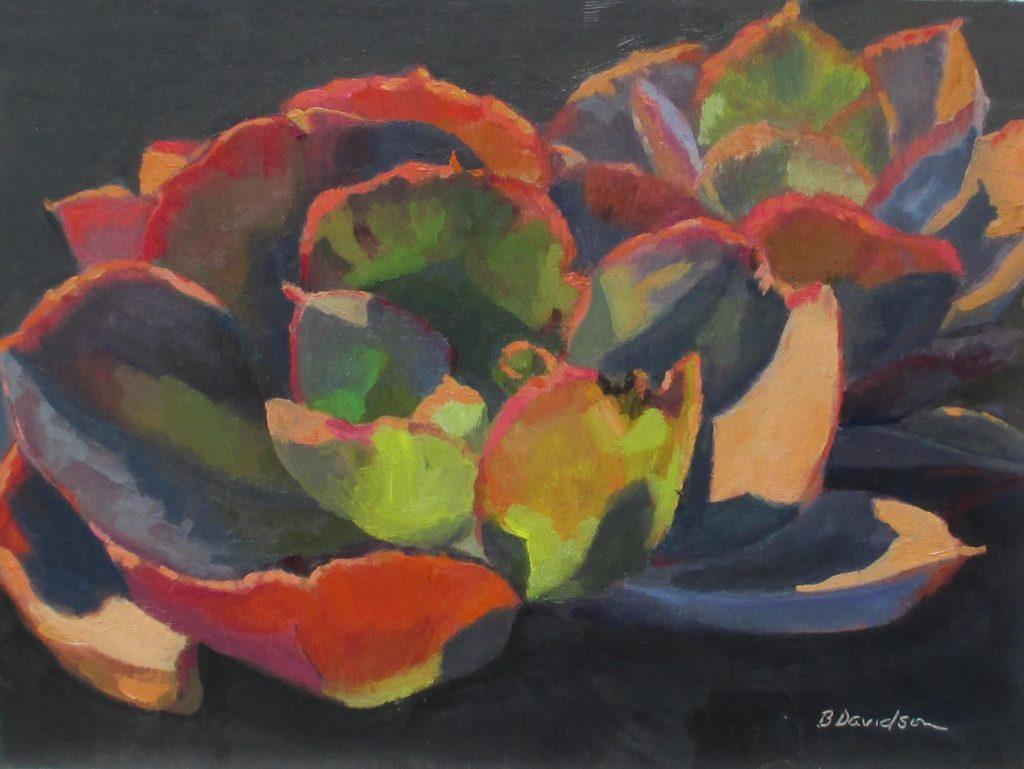 """Succulent"" by LPAPA Artist Barbara Davidson"