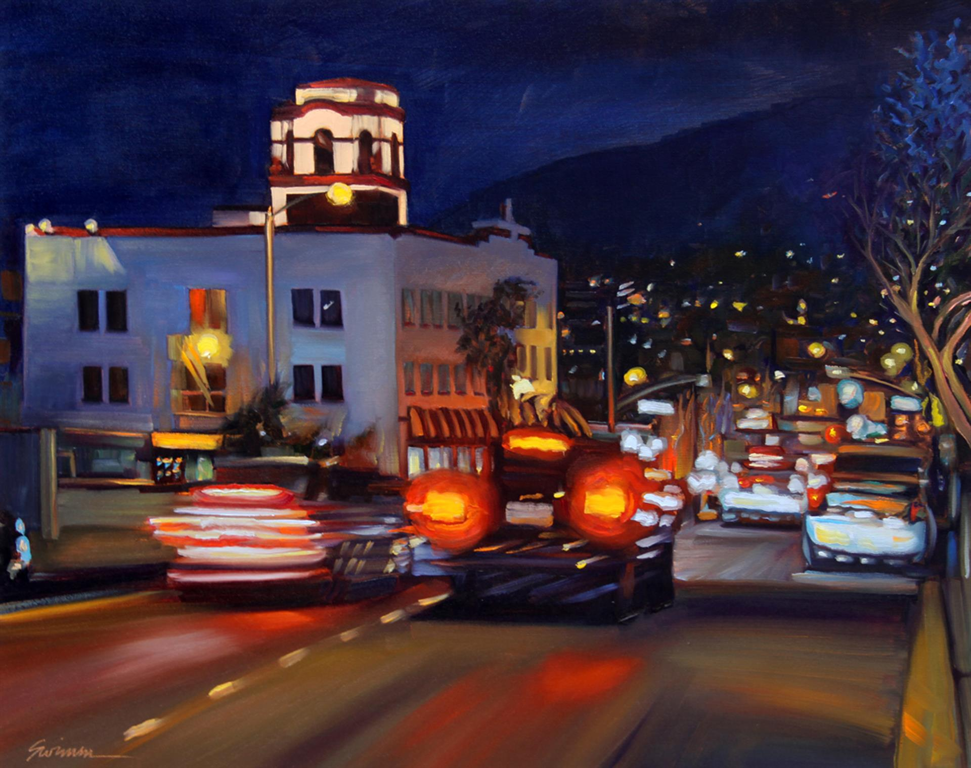 """Hot Laguna Night"" by LPAPA Artist Member Tom Swimm"