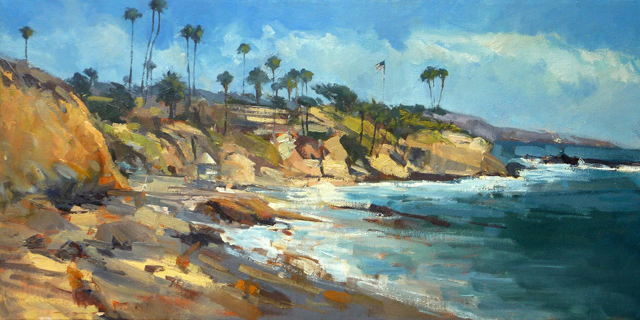 """Diver's Cove, Laguna Beach"" by LPAPA Signature Member Anthony Salvo"