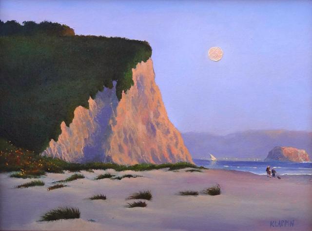 "Katarzyna Lappin's ""Evening on the Beach"""
