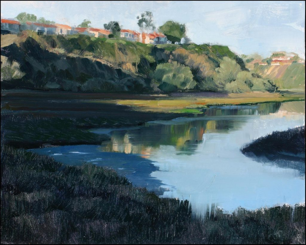 Laguna Plein Air Artist Judith Cameron - Back Bay Morning