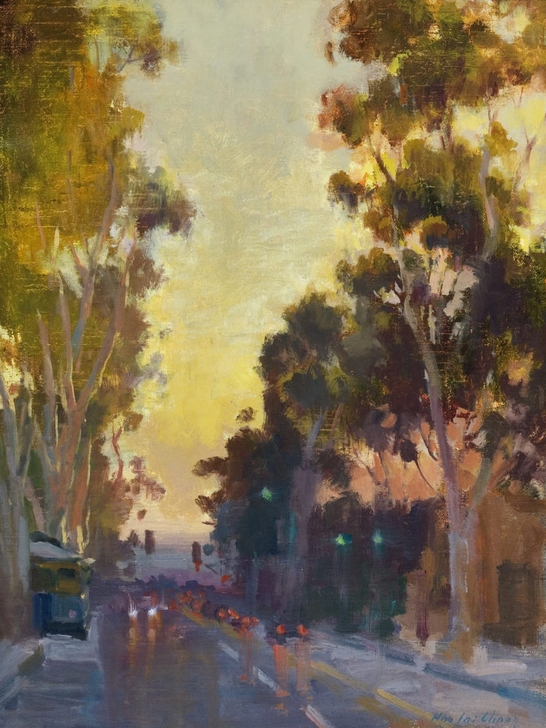 Lights on Broadway by Hiu-Lai Chong