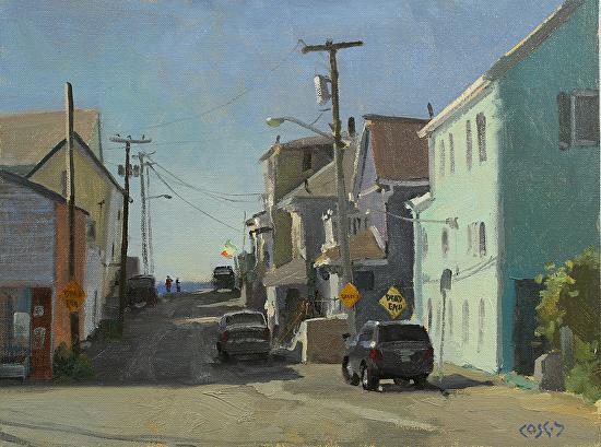 Laguna Plein Air Artist John Cosby Massachusetts painting workshop June 2018