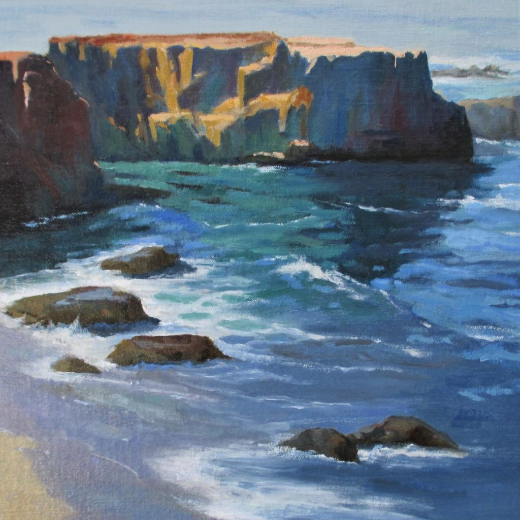 California Highway One by LPAPA Artist Barbara Davidson