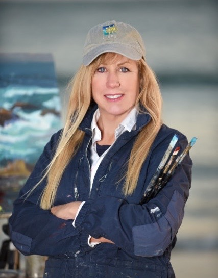 Laguna Plein Air Signature Artist Debra Huse painting class