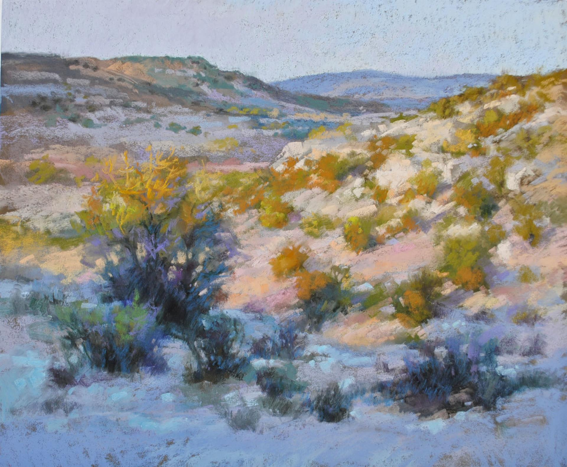"Honorable Mention: LPAPA Artist Christine Debrosky for ""Along Cliff Rose"""