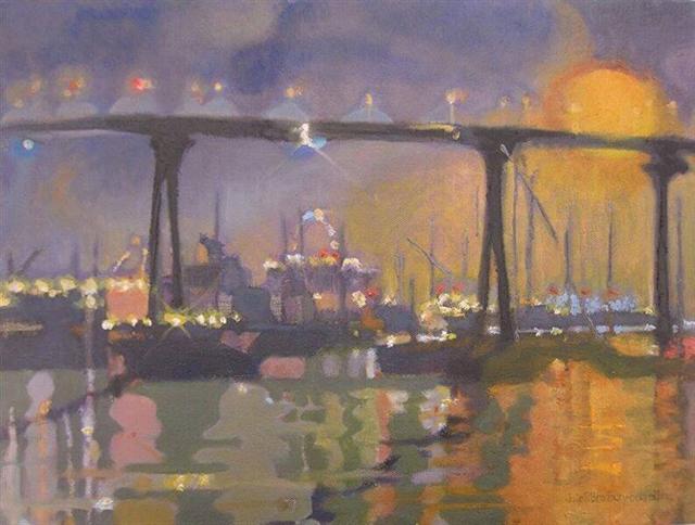 """Julie Bradbury-Bennett's """"Lights, Tideland Park"""""""