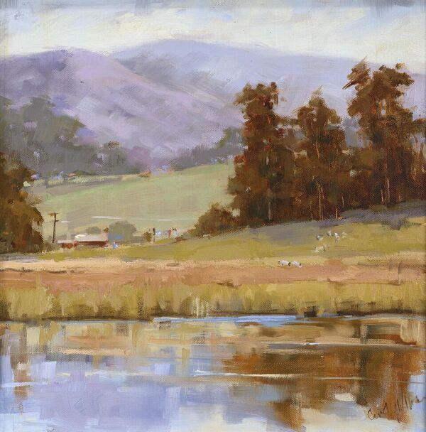 "Cindy Wilbur's ""Tranquil Fields"""