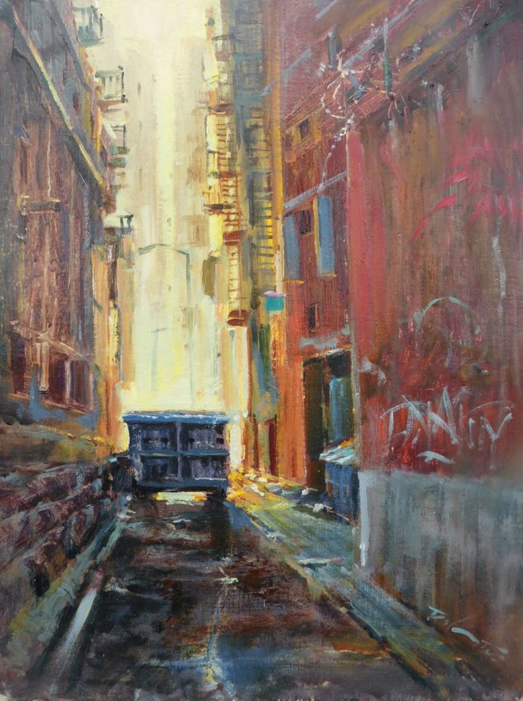"Rick J. Delanty's ""Urban Canyons"""