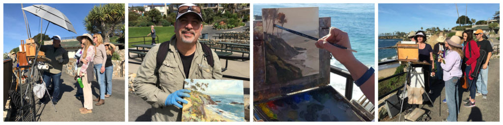 loca-lpapa february 13 2017 paint out with mcdill and salvo