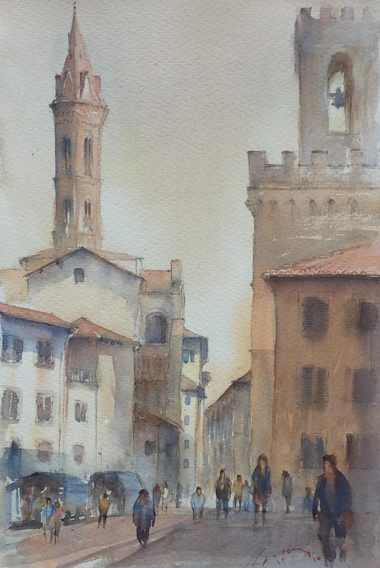 """Hans Groeneveld for """"Florence Tuscany"""""""