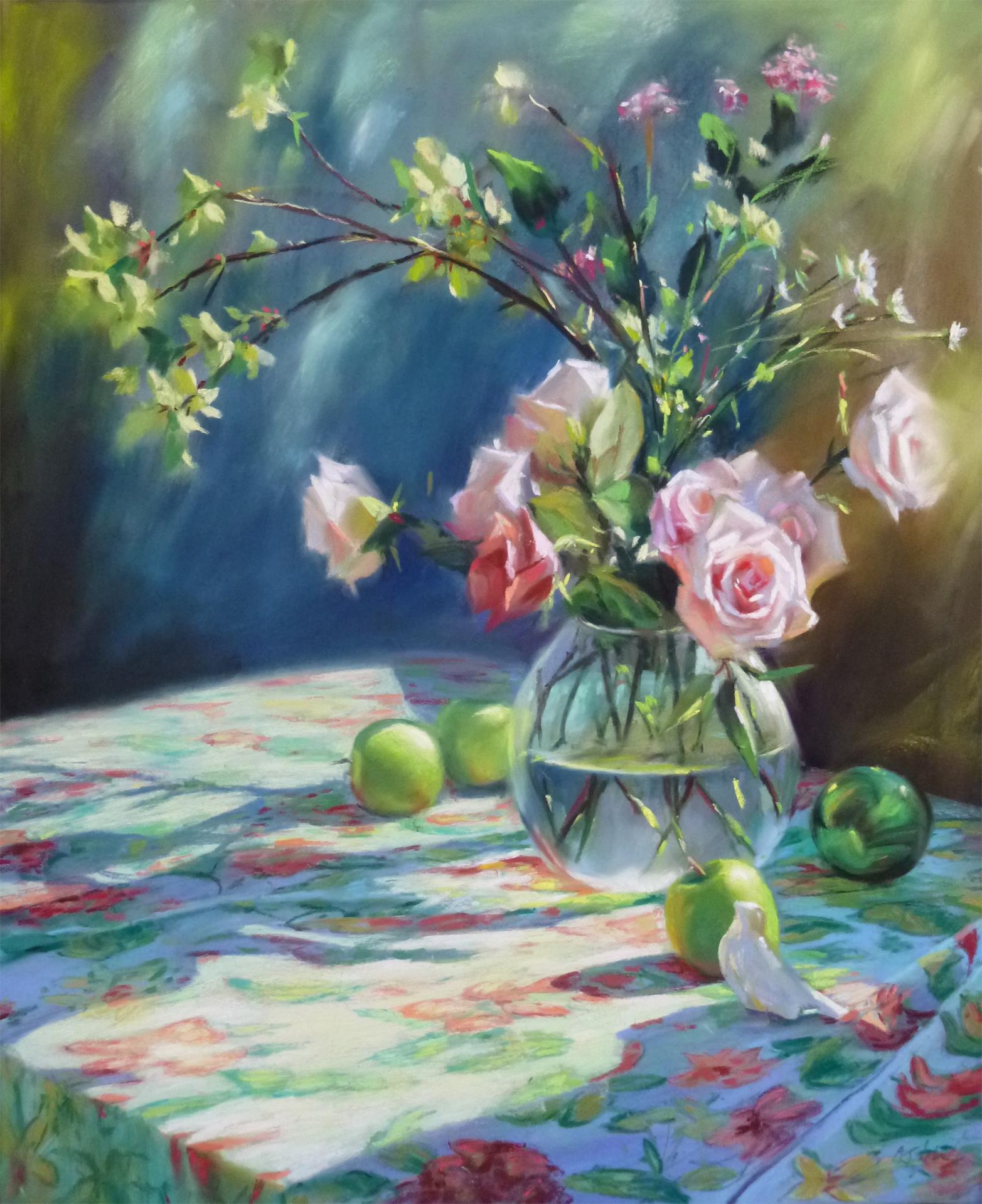"""Beckoning Spring"" by LPAPA Artist Mary Alsin"