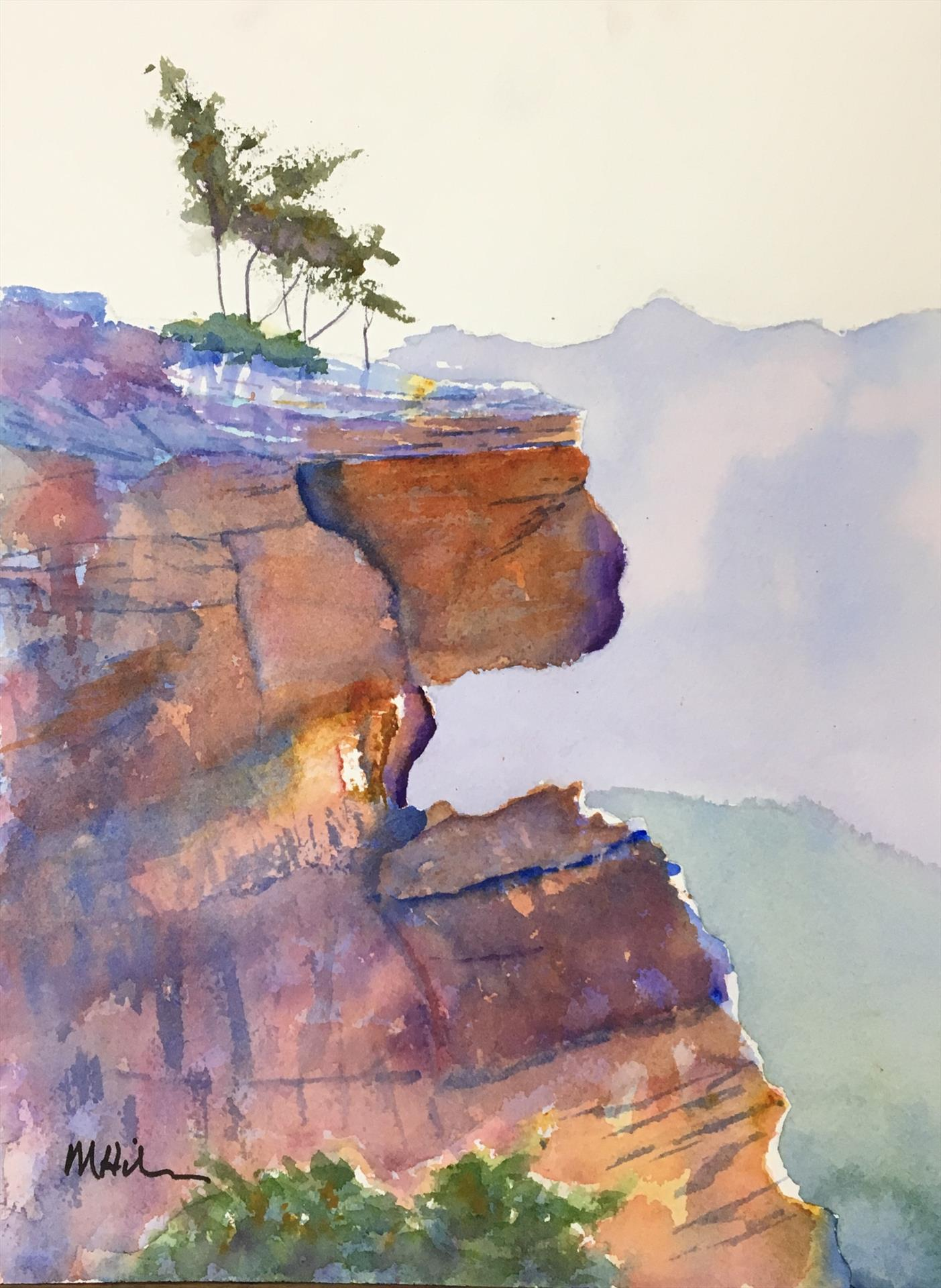 """Evening at the Canyon"" by LPAPA Artist Margie Hildreth"
