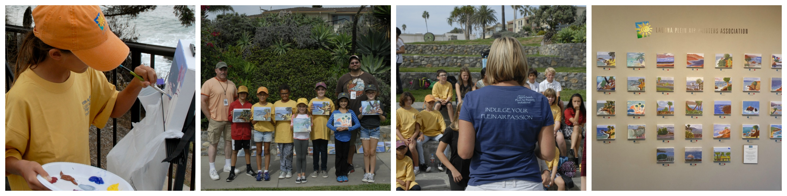 Annual Laguna Beach Invitational Kids Paint Out