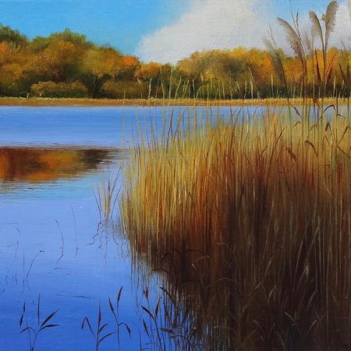 "Katarzyna Lappin's ""Golden Reflections"""