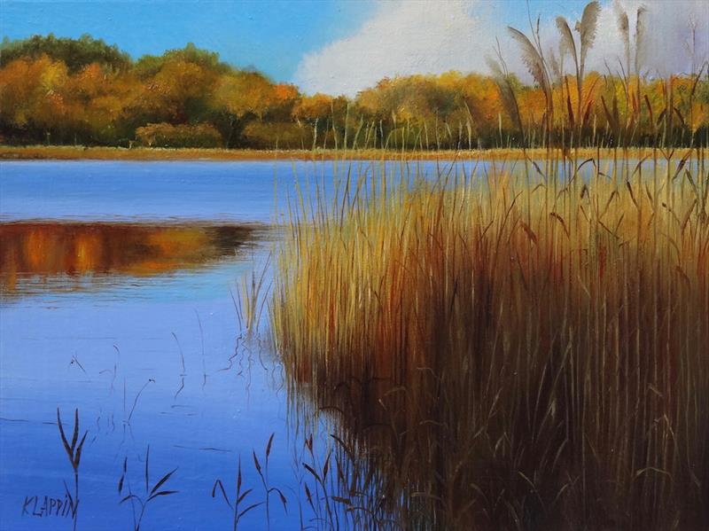 "Katarzyna Lappin's ""Golden Reflections"""