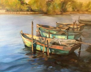 Laguna Plein Air Artist Monica Edwards