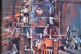 """Current Art Show: """"Trains, Pleins & Automobiles"""""""