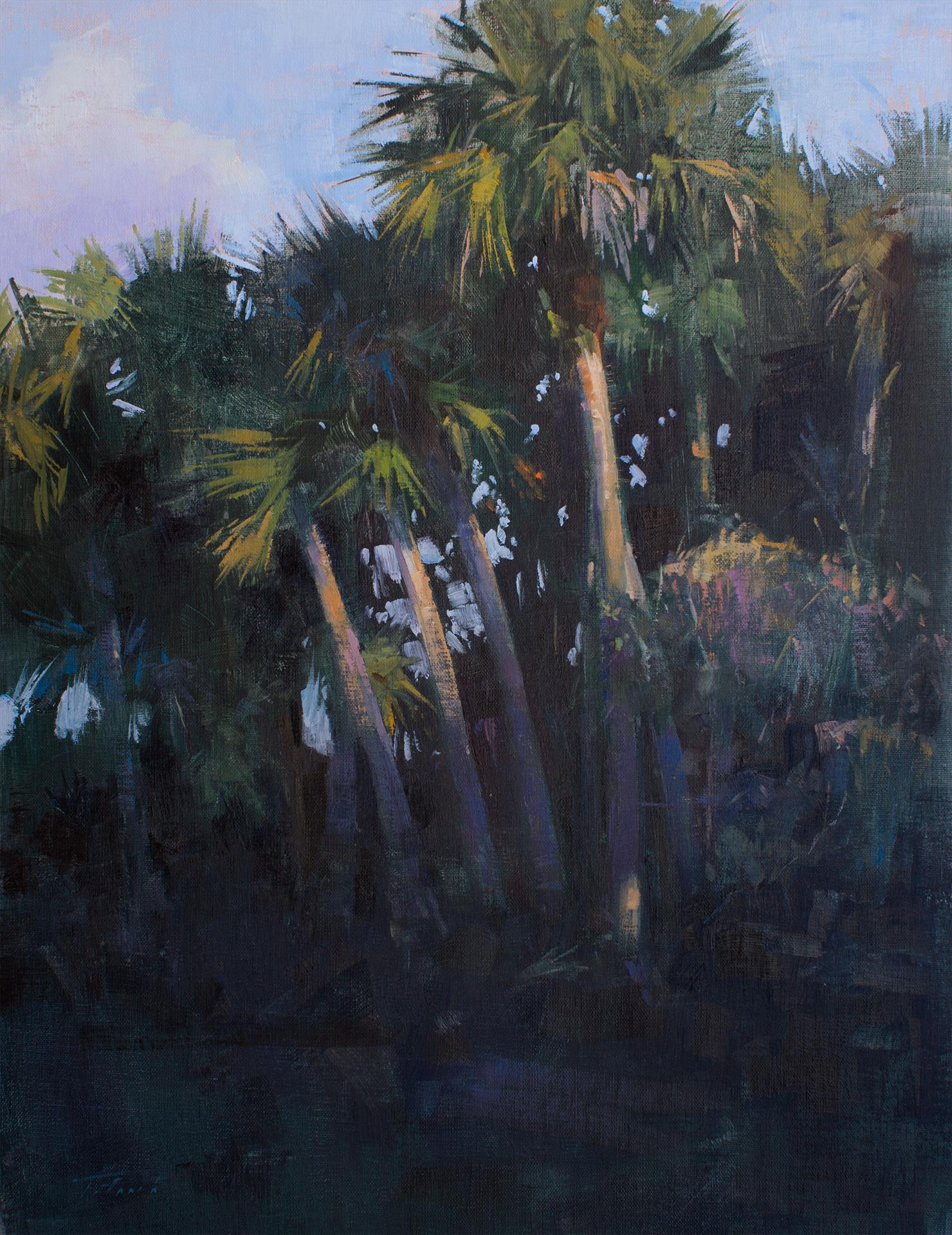 "2nd Place: LPAPA Signature Artist Patrick Saunders for ""Riverbend Breeze"""