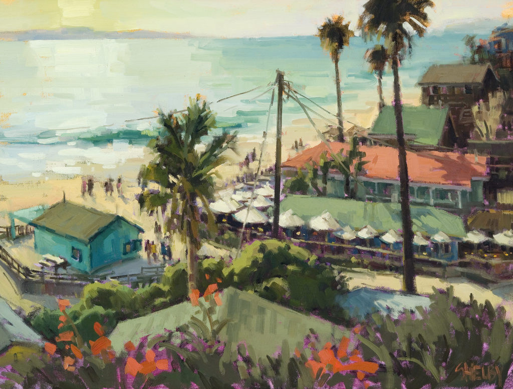 "Shelby Keefe's ""Rooftops of Crystal Cove"""