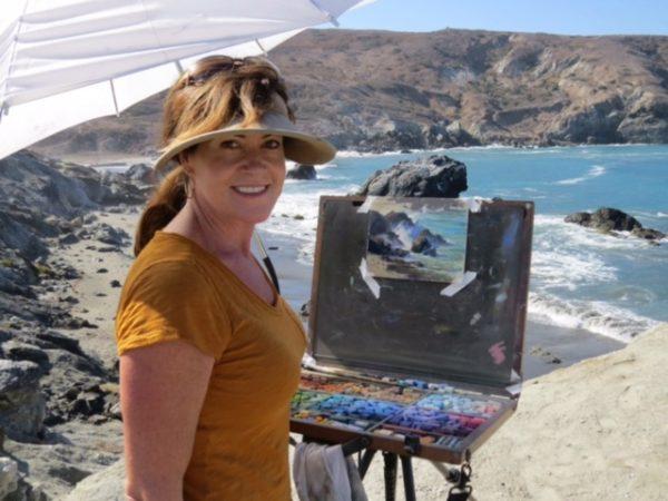 Laguna plein air signature artist kim lordier