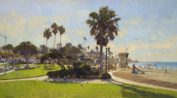 "Jim McVicker's ""Morning at Main Beach"""