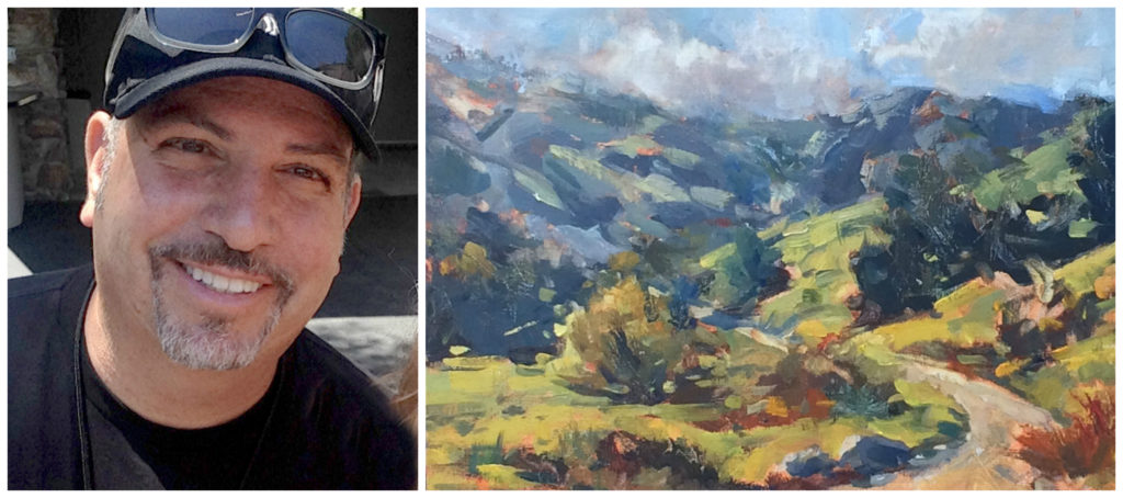 anthony salvo - LPAPA Signature Artist Paint Out