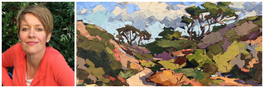 carla bosch - featured laguna plein air artist - march 2017