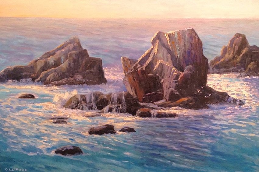 Laguna Pleina Air Artist Diane Lamere