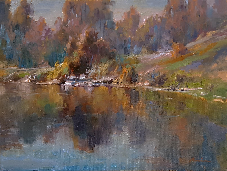 laguna plein air signature artist ebrahim amin fine art gallery