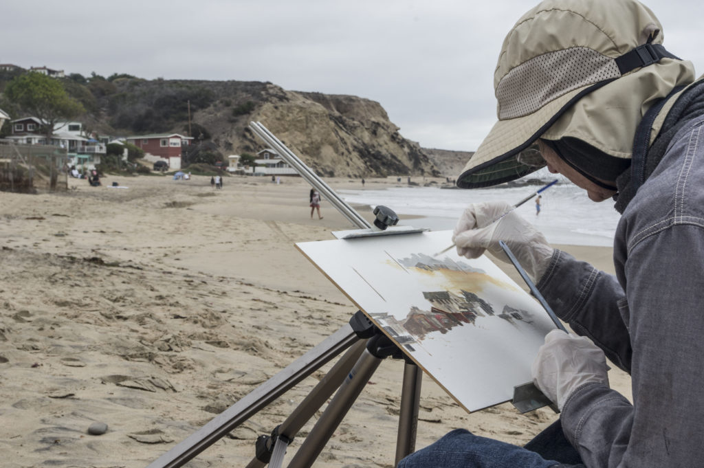 Featured Laguna Plein Air Signature Artist April Raber