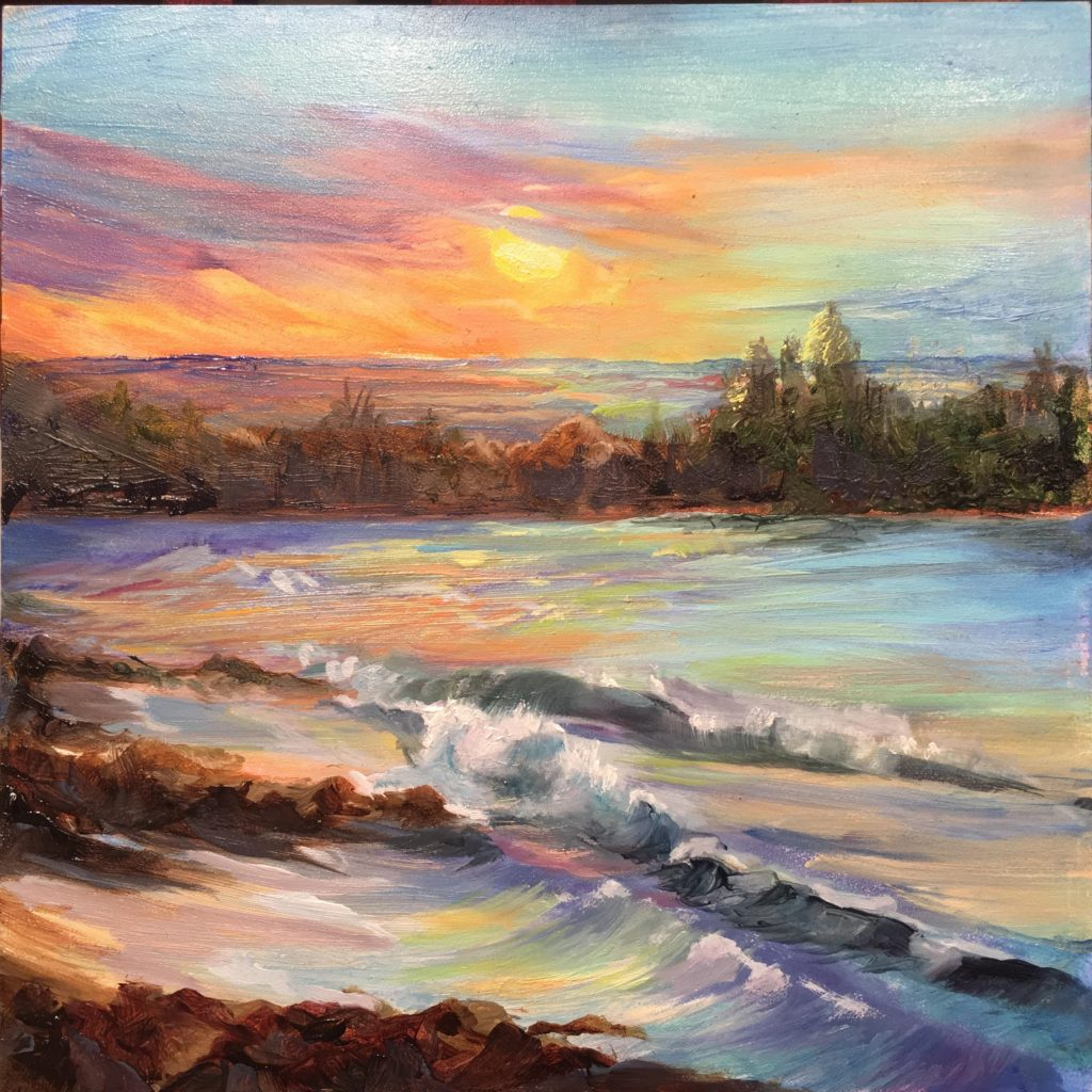 Laguna Plein Air Artist Dawn Harrison