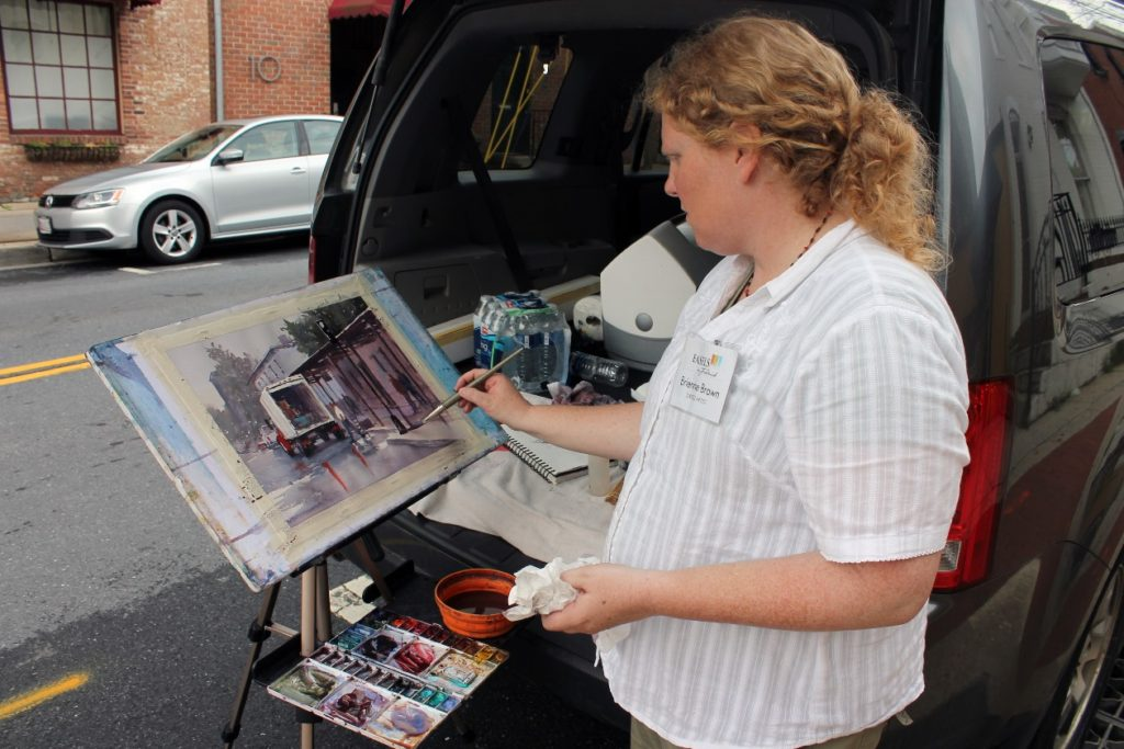 Featured Laguna Plein Air Artist Member Brienne Brown