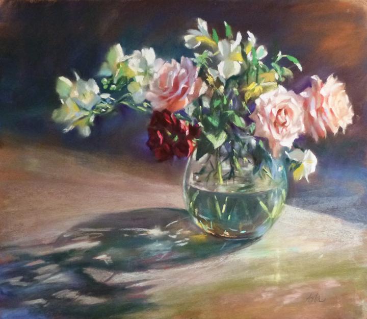 lpapa artist member Mary Aslin september workshop france