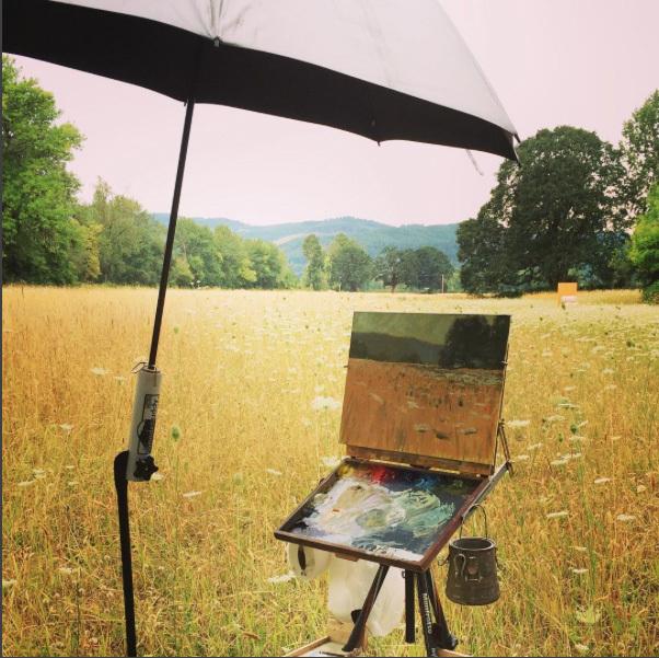 lpapa signature artist brenda boylan-july painting workshop-oregon