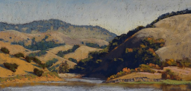 LPAPA Signature Artist Clark Mitchell mentor paint-out