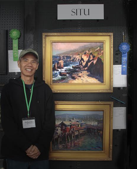 lpapa signature artist Michael-Situ-First-Place-award