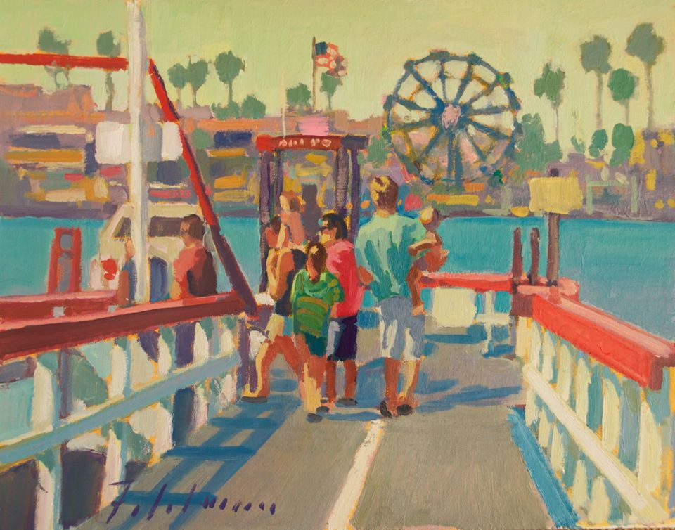 LPAPA Signature Artist Mark Fehlman_Island Life