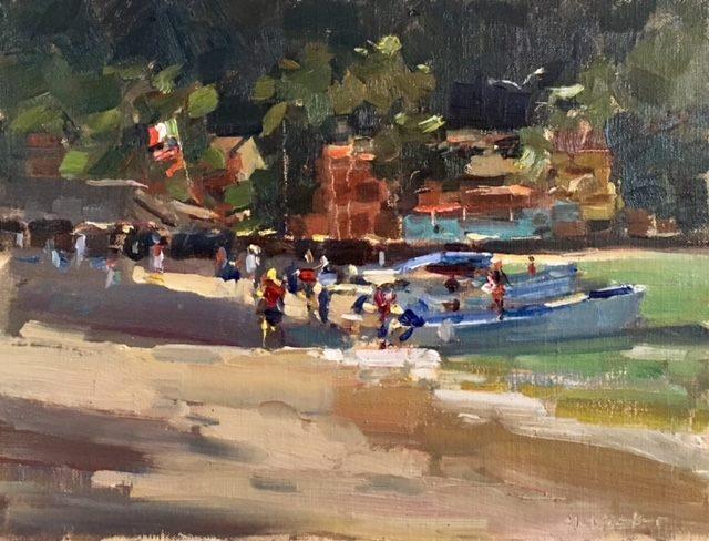 LPAPA Signature Artist Jim McVicker painting workshop Jan 27 - Feb 3, 2018